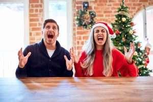 """O du fröhliche,  du selige, """"schaden""""-bringende Weihnachtszeit!"""